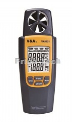 Temperature/Humidity/ Vane anemometer