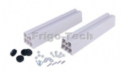 PVC floor support for air conditioner